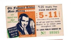 Weekly pass from Saint Louis (Missouri) Public Service Company (1942)