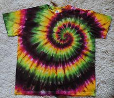 Batikované+tričko+-+Tropické+Toto+tričko+je+již+prodané,+ale+na+objednávku+vám+vytvořím+velmi+podobné+ve+vaší+velikosti. Tie Dye, Women, Tye Dye, Woman