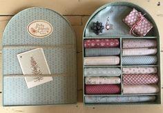 Quiltstof assortie L' Atelier Perdu in een box