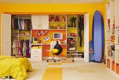 Diseño de Closets para la Habitación de los Niños : Casas Decoracion