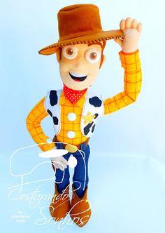 Toy Story em feltro - Moldes