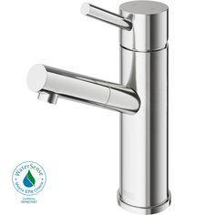 vigo single hole single handle bathroom faucet in chrome grey in rh pinterest es