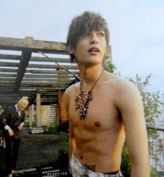 (shirtless) Jaehyo from Block B