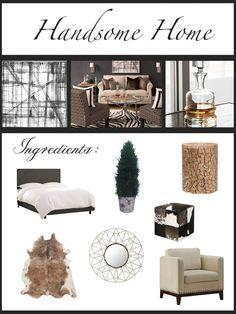 Handsome Home - http://idea4homedecor.com/handsome-home/ -#home_decor_ideas #home_decor #home_ideas #home_decorating #bedroom #living_room #kitchen #bathroom #pantry_ideas #floor #furniture #vintage #shabby