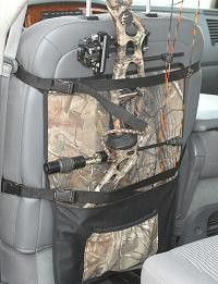 back of the seat storage case for your compound bow at: Two Guys Hunting Store - Wac'em Vertical Seatback, $36.49 (http://store.twoguyshunting.com/wacem-vertical-seatback/)