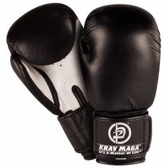 Krav Maga Leather Boxing Glove (Black) *** More info could be found at the image url. (This is an affiliate link) #OtherSports