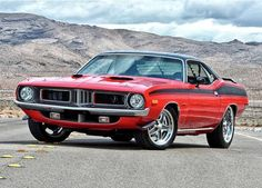 Photography — 74 Plymouth Barracuda