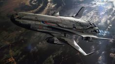 Aeronautics by Rasmus Poulsen, via Behance
