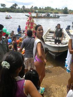 Reinado de Colonias en Mitú  |  #Mitú, #Vaupés #Colombia   Fairs and Festivals Pageant Integration of National Colonies.