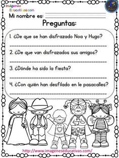 Lecturas comprensivas para Primaria y primer grado. Las aventuras de Noa y Hugo -Orientacion Andujar