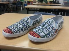 Chemistry shoes