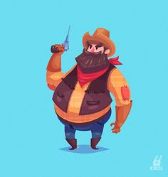 Character set (Vector illustrations) on Behance