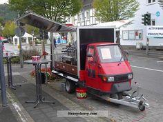 2009 Other  Piaggio APE espresso Trailer Traffic construction photo