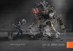 Rydd® Racking System - Defeat the Monster on Behance