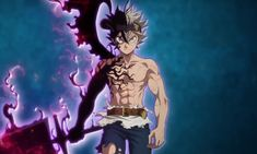 Otaku Anime, Anime Manga, Anime Art, Dark Anime, Anime Negra, Manga Tattoo, Black Clover Manga, Dragon Ball, Hot Anime Guys