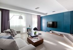 Harmonious Modern Home in Taiwan Especially Designed for Two Newlyweds