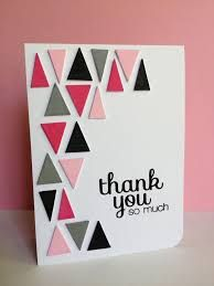 handmade thank you card - Google Search