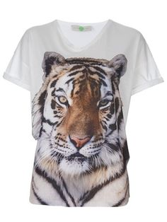 43938e102fb53a Celebrities who wear, use, or own Stella McCartney Tiger T-Shirt. Also  discover the movies, TV shows, and events associated with Stella McCartney  Tiger ...