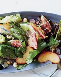 Autumn Salad with Figs and Blue Cheese Recipe on Food & Wine