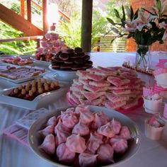 """something sweet"" from a birthday morning tea spread. Pretty in pink 1st Birthday Girls, Birthday Parties, Birthday Ideas, Birthday Morning, Pink Foods, Something Sweet, Sweet 16, Pretty In Pink, First Birthdays"
