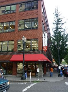 Much beloved Powell's books! Spent hours in this place!