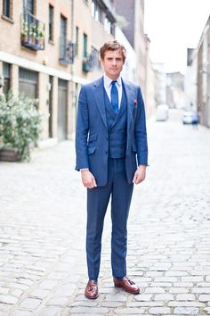 Groom Suit with a different vest