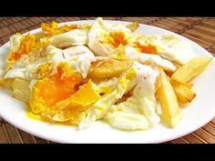 Cómo hacer Huevos Rotos al estilo Lucio - YouTube