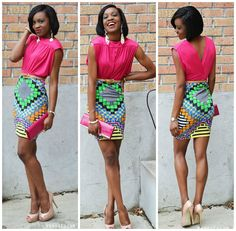 African Prints in Fashion: Search results for share your style