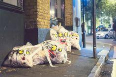 Litterally rubbish art, by Kentaro Tsuda