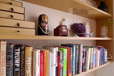 Lovely traditional Russian #Matryoshka Doll on a shelf in a flat in Japan.