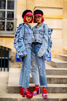Best Street Style: Paris Fashion Week Fall 2018 - theFashionSpot
