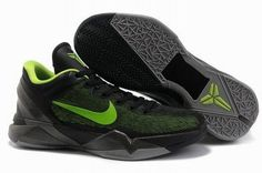 Ken Griffey Shoes Nike Zoom Kobe 7 Black Volt Cool Grey [Nike Zoom Kobe 7 - It features a mostly black upper that is highlighted with volt undertones. Additional volt touches spill over onto the Nike Swoosh and also appear on the insole. Kobe 7 Shoes, Kobe Bryant Shoes, Nike Kobe Bryant, New Jordans Shoes, Nike Shoes, Michael Jordan Shoes, Air Jordan Shoes, Stephen Curry, Puma Running