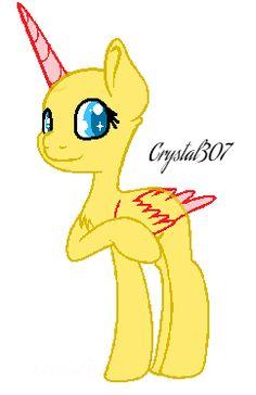 Mlp Base #4 //Nice To Meet Ya!// By Crystal307 by Crystal307