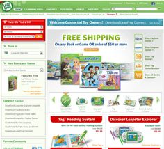 LeapFrog.com -  Get Free Shipping on All NEW Monsters University products.