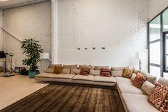 Reforma loft de estilo industrial neoyorquino en Barcelona
