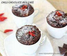 CHILLI CHOCOLATE MUG CAKE