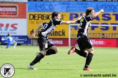 Belgacom League 2013 - 2014 / Eendracht Aalst vs Hoogstraten / zondag 11 augustus 2013 - 15u00 / Pierre Cornelisstadion / Armin Ceremagic, Donjet Shkodra