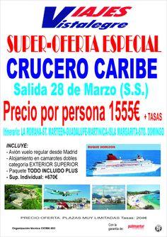 Oferta Especial Crucero Caribe Semana Santa ultimo minuto - http://zocotours.com/oferta-especial-crucero-caribe-semana-santa-ultimo-minuto/
