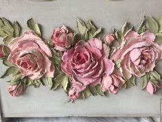 Цветы из декоративной штукатурки – очаровательный декор, который хочется повторить — Копилочка полезных советов
