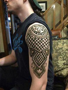 56 Best Henna Tattoos For Men Images Men Henna Tattoo Henna Men