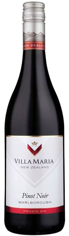 #Wine of the day // #Vin du jour : Villa Maria – Pinot Noir 2012 – Private Bin – #Marlborough - New Zealand (14.75/20) http://vertdevin.com/vin/villa-maria-pinot-noir-2012-private-bin-marlborough/