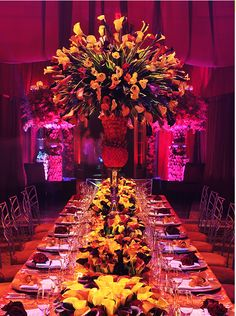 Premier Event Design Preston Bailey - in awe - amazing website for inspiration, advice & services #tabledecor #centrepieces