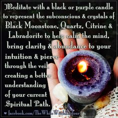 Here is a simple yet effective spell you can perform, whenever you feel like you…