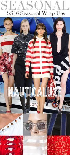 Today's peek at directional theme trendsfor the Spring Summer 2016season comes from the Trend Council, a great trend forecasting agency for the fashion industry that provides both analysis and de...