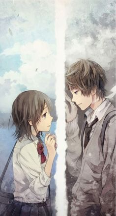 only a wish useless. you can to see him but you can't to have him. :')