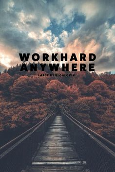unofficial WORKHARD ANYWHERE. Mobile baggrund