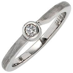 Damen-Ring teilmattiert Platin 1 Diamant 0.08 ct. 56 (17.8) Dreambase http://www.amazon.de/dp/B00EYGMIPQ/?m=A37R2BYHN7XPNV