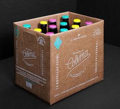 White on kraft paper is always a good idea. | Colima Case