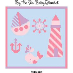 By the Sea Baby Blanket crochet graph by CrochetInfinity - Craftsy