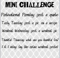 Beachbody Challenge Groups: Daily Post Guidelines. #